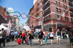 NYC Feast of San Gennaro Stock Photos