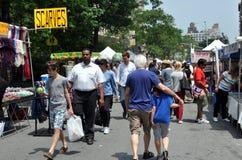 NYC: Festival superiore della via del Broadway Fotografia Stock Libera da Diritti