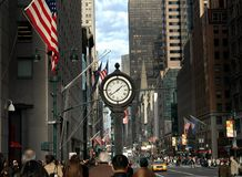 NYC:  Fifth Avenue Royalty Free Stock Photography