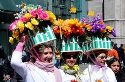 NYC: Fifth Avenue Easter Parade Stock Images