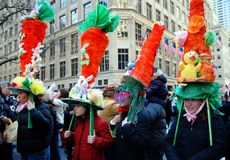 NYC: Fifth Avenue Easter Parade Royalty Free Stock Images