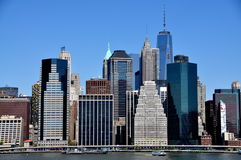 NYC: Financial District Towers Stock Photos