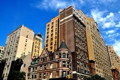 NYC: Flodstranddrevhyreshusar Arkivfoton