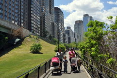 NYC: Flussufer-Park Süd Lizenzfreies Stockbild