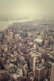 NYC från över Arkivbilder