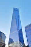 NYC Freedom Tower in im Stadtzentrum gelegenem Manhattan Stockfotografie
