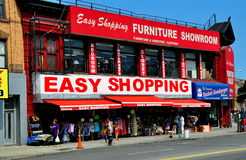 NYC: Furniture Store in Upper Harlem Stock Images