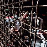 NYC-gångtunnel Royaltyfria Foton