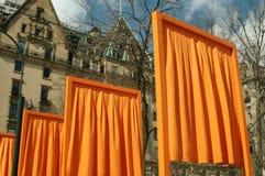 NYC: The Gates Art Installation Royalty Free Stock Photos
