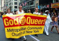 NYC: Gay Pride Parade Royalty Free Stock Image