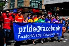 NYC: 2014 Gay Pride Parade Stock Photography