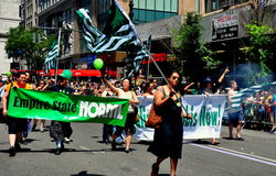 NYC: 2014 Gay Pride Parade Stock Images