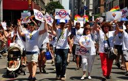 NYC: 2013 Gay Pride Parade Stock Photo