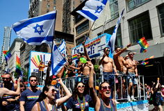 NYC: 2014 Gay Pride Parade Stock Photo