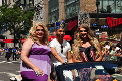 NYC: 2014 Gay Pride Parade Royalty Free Stock Photos