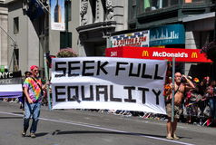 NYC: 2014 Gay Pride Parade Royalty Free Stock Images