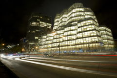 NYC Glass Building Royalty Free Stock Photography