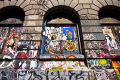 NYC Graffiti Royalty Free Stock Photography