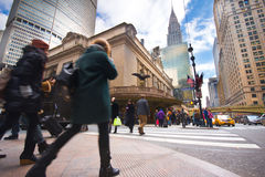 NYC Grand Central Street Royalty Free Stock Images