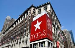 NYC: Grande magazzino del Macy Fotografie Stock