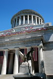 NYC: Grant's Tomb. The handsome neo-classical Grant's Tomb on Riverside Drive is the final resting place for U.S. President Ulysses S. Grant and his wife Julia Stock Photography
