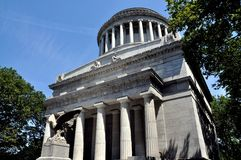 NYC:  Grant's Tomb. New York City: Grant's Tomb built in 1897 is the final resting place for Ulysses S. Grant, the 18th President of the United States, and his Stock Photo
