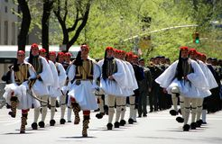 NYC:  Greek Independence Day Parade Stock Image