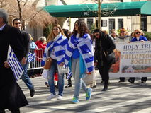 NYC Greek Independence Day Parade 2016 Part 2 99 Royalty Free Stock Photos