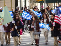 NYC Greek Independence Day Parade 2016 Part 4 41 Stock Photography