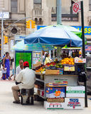 NYC Green Cart Stock Images