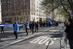 2016 NYC Griekse Parade 4 van de Onafhankelijkheidsdag Royalty-vrije Stock Afbeeldingen