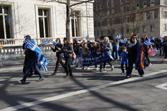2016 NYC Griekse Parade 8 van de Onafhankelijkheidsdag Stock Fotografie