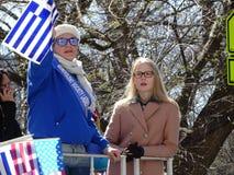 2016 NYC Griekse Parade 25 van de Onafhankelijkheidsdag Royalty-vrije Stock Foto's