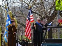 2016 NYC Griekse Parade 60 van de Onafhankelijkheidsdag Stock Afbeeldingen
