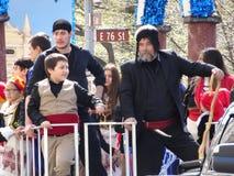 2016 NYC Griekse Parade 63 van de Onafhankelijkheidsdag Royalty-vrije Stock Fotografie