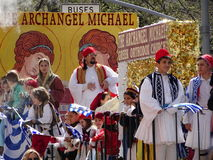 2016 NYC Griekse Parade 72 van de Onafhankelijkheidsdag Stock Foto's