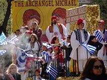 2016 NYC Griekse Parade 73 van de Onafhankelijkheidsdag Royalty-vrije Stock Foto