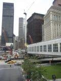 NYC Ground Zero Construction Stock Photos