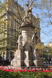 NYC: Guiseppe Verdi Monument Royalty Free Stock Image