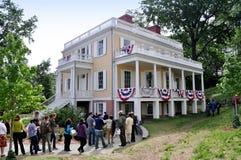 NYC: Hamilton-Gutshof 1802 Lizenzfreies Stockbild