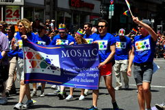 NYC : 2014 homosexuel Pride Parade Photo stock