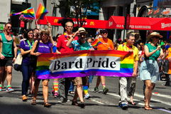 NYC : 2014 homosexuel Pride Parade Images stock