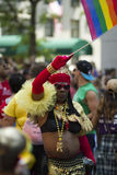 NYC-Homosexuelles Pride March Stockbild