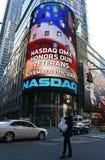 NYC honra día de veteranos Foto de archivo libre de regalías