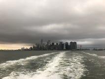 NYC-Horizon royalty-vrije stock afbeelding