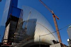 NYC: Hub del trasporto del PERCORSO Immagini Stock Libere da Diritti