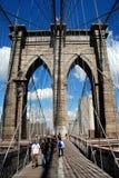 NYC: Il ponte di Brooklyn Fotografia Stock Libera da Diritti