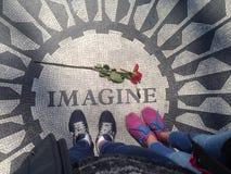 NYC imagine & rose stock photos