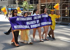 NYC: International Immigrants Foundation Parade Stock Photos