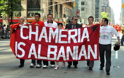 NYC: International Immigrants Foundation Parade Stock Image